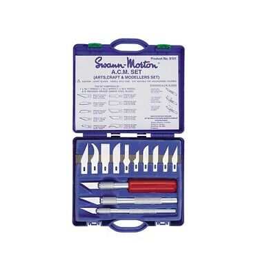 Swann Morton Arts, Crafts & Modellers 13pc Knife set