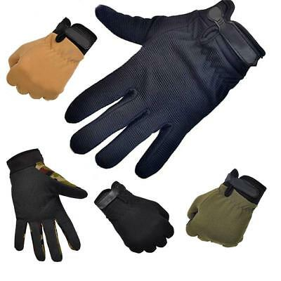 Cycling Racing Bicycle Full Finger Gloves Anti-slip Outdoor Protective Mittens
