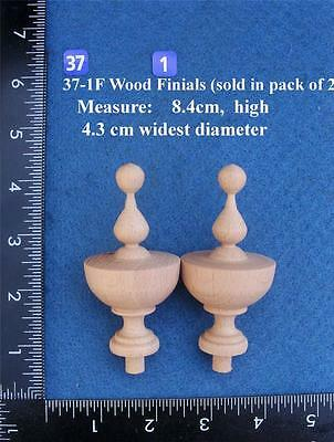 Pair of Clock / furniture Finials Style 37(A)F