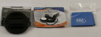 Lens cap Cover For Kodak Z990 EasyShare 990 Max Front cap with holder 52 NEW