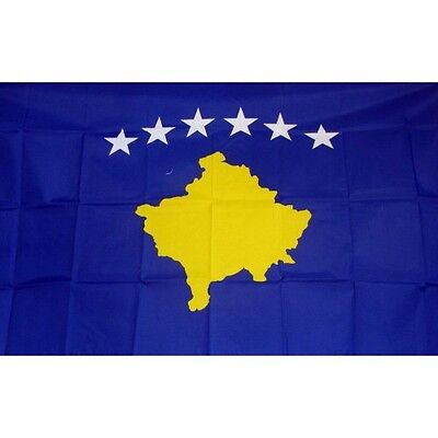Kosovo 3 x 5' Banner National Flag 90cm x 150cm