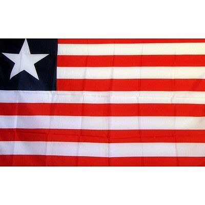 Liberia 3 x 5' Banner National Flag 90cm x 150cm