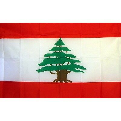 Lebanon 3 x 5' Banner National Flag 90cm x 150cm
