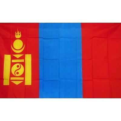 Mongolia 3 x 5' Banner National Flag 90cm x 150cm