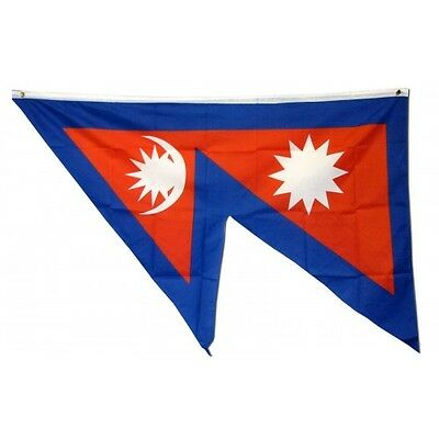 Nepal 3 x 5' Banner National Flag 90cm x 150cm