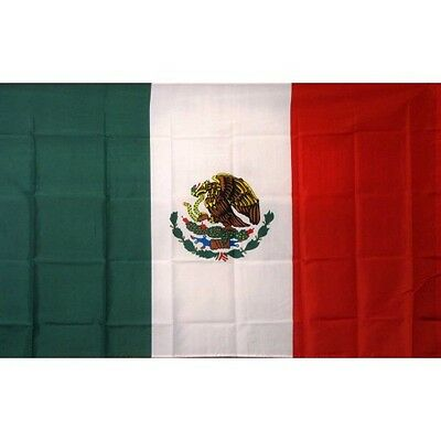 Mexico 3 x 5' Banner National Flag 90cm x 150cm