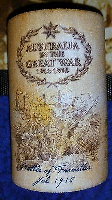 Stubby Drink Cooler Great War Western Front  - New Anzac History