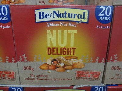 Be Natural Nut Delight Bar 20 x 40G