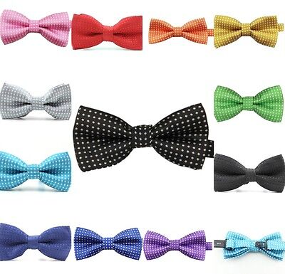 **NEW** BOYS Jacquard Weave Bow Tie  Adjustable TODDLER BABY CHILD KIDS PARTY