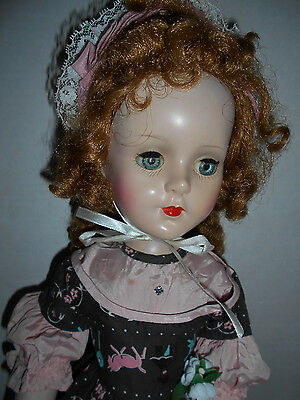 """VTG Sweet Sue Walker Doll Complete ORIG Outfit American Character Beauty 21"""""""