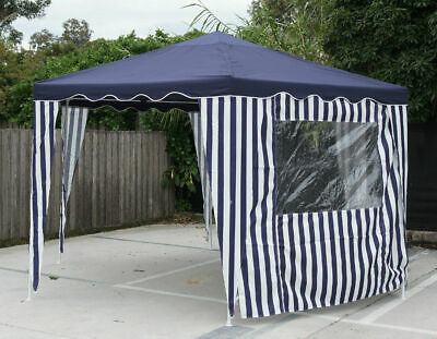 Hexagon Gazebo with 2 walls, 2x2x2m x 2.7m