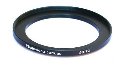 Step Up Ring 58-72mm  58mm 72mm - NEW