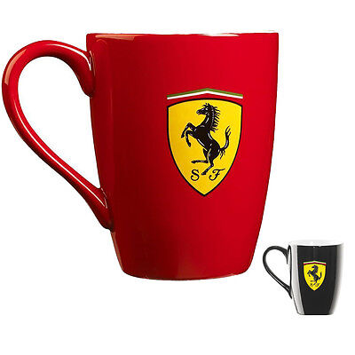 SALE! SCUDERIA FERRARI F1 'SCUDETTO' DRINKS MUG CUP STONEWARE in GIFT BOX!