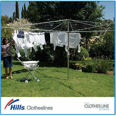 NEW Heritage 5 Hills Hoist Clothes Line Galvanised Steel Clothesline