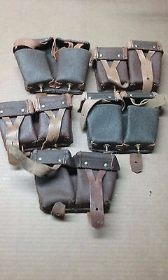 Mosin Nagant Ammo Pouches  lot of 5 Y35