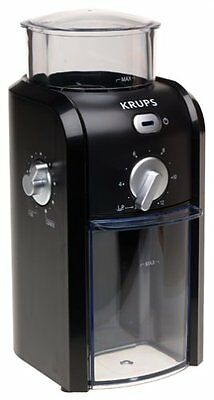 Krups Gvx1 Coffee Grinder Grid Size & Cup Selection Stainless Steel Conical Burr
