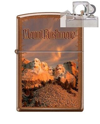Zippo 21184 Mount Rushmore Lighter with PIPE INSERT PL