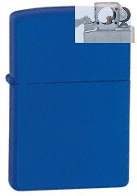 Zippo 229 royal blue matte Lighter with PIPE INSERT PL