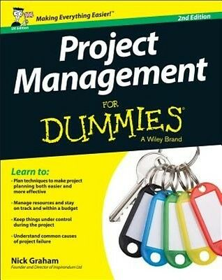 Project Management for Dummies by Nick Graham Paperback Book (English)