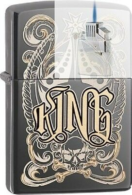 Zippo 28798 king-venetian design Lighter & Z-PLUS INSERT BUNDLE