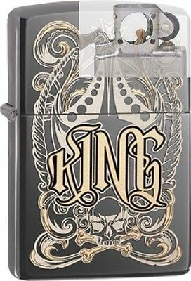 Zippo 28798 king-venetian design Lighter with PIPE INSERT PL