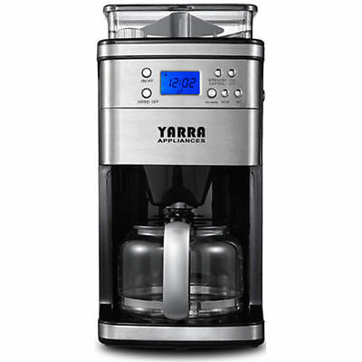 Coffee Makers Fully Automatic Drip Coffee Machine Built-In Grinder