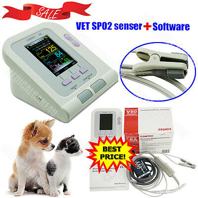 Veterinary Blood Pressure Monitor SPO2 pulse Sensor NIBP Pulse Rate VET,Software