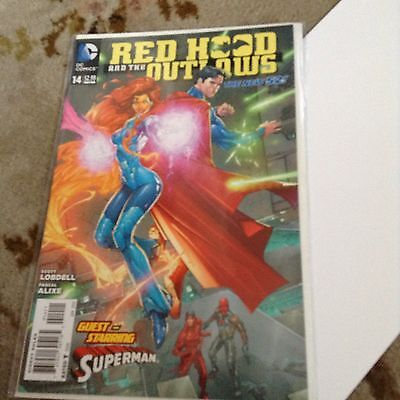 RED HOOD AND THE OUTLAWS #14 1st Printing - The New 52! / 2013 DC Comics