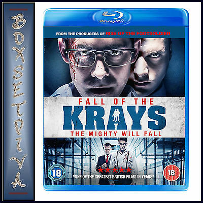 FALL OF THE KRAYS -Kevin Leslie, Josh Myers  & Simon Cotton *BRAND NEW BLURAY *