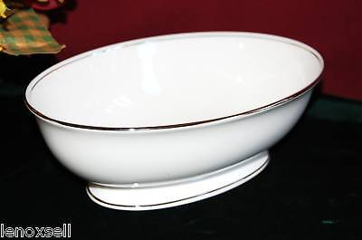LENOX  FEDERAL PLATINUM Open Vegetable Bowl NEW in Box USA