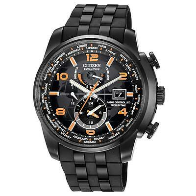 Citizen Eco-Drive Radio Controlled World Time Watch AT9015-08E Limited Edition
