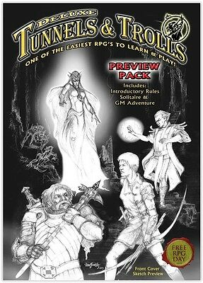 Deluxe Tunnels & Trolls Preview Pack Free RPG Day 2013