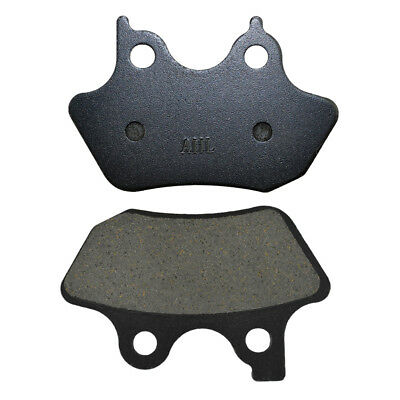 Front Rear Brake Pads For Dyna Electra Glide Sportster 883 1200 Fatboy Softail