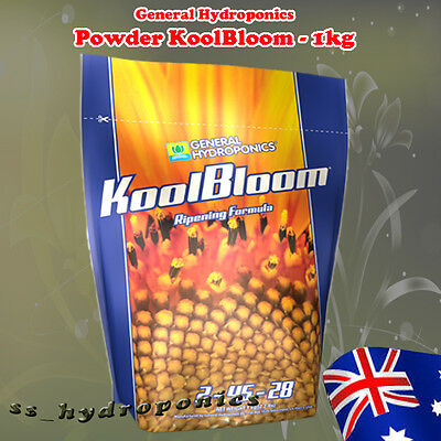 General Hydroponics Koolbloom Powder 1kg Grow Flowering Boost Nutrient