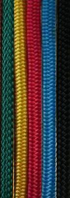12MM DBLE BRD POLYESTER YACHT ROPE-Per Metre-Solid Col
