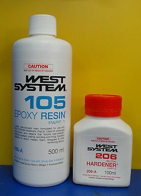 West System Epoxy Resin Kit - 600ml