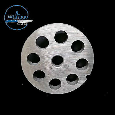 #12 Mincer Plate 12mm Holes  Stainless Steel- Butcher, Sausage Making, Hunter