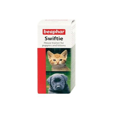 Beaphar Puppy Kitten SWIFTIE House Trainer Concentrated Toilet Training Aid 20ml