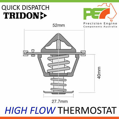 New Genuine * TRIDON * High Flow Thermostat For Mazda RX8 1.3L