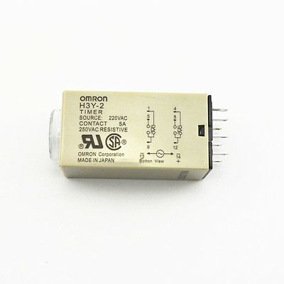 10X H3Y-2 AC 110V Delay Timer Time Relay 0 - 30 Minute