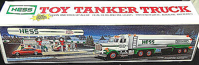 1990 Hess Toy Tanker Truck MINT NEW IN BOX - FREE SHIPPING [S6085]