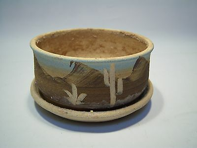 Vintage Handcrafted Decorative Western Style Ceramic Bowl