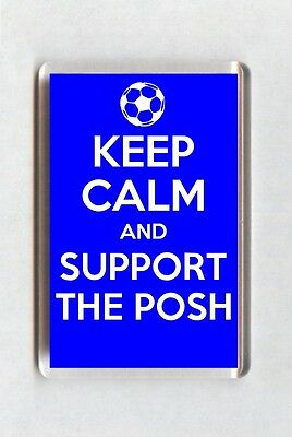 Keep Calm And Support Football Fridge Magnet - Peterborough United