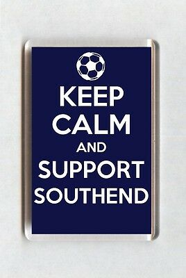 Keep Calm And Support Football Fridge Magnet - Southend United