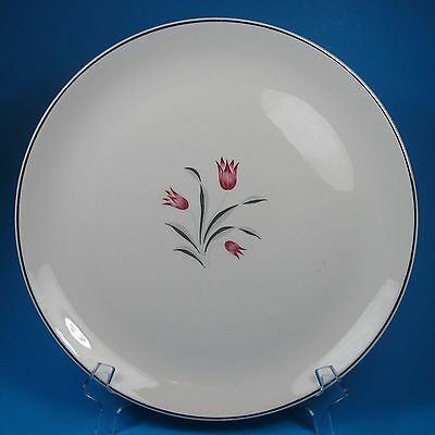 Salem TULIP TIME Dinner Plate 1 USA Pink Tulips