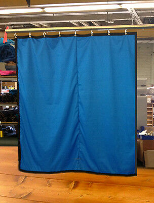 Royal Blue Curtain/Stage Backdrop/Partition, Non-FR, 10 H x 10 W