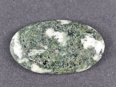 STONEHENGE SPOTTED BLUESTONE CABOCHON, 7x21x37mm, many more available
