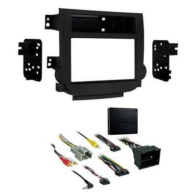 Metra 95-3318B Black Double DIN Dash Kit for Select 2013-up Chevrolet Malibu