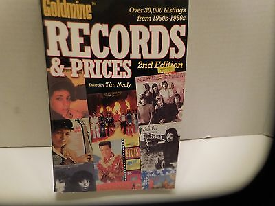Goldmine  Records & Prices 2Nd Edition By Tim Neely 2004