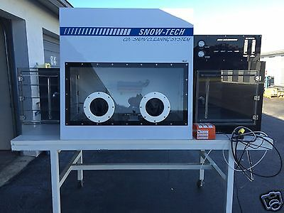 Snow Tech CO2 Snow Cleaning System